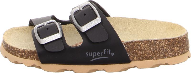 Superfit Fussbett Kengät, Black 36