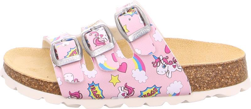 Superfit Fussbett Kengät, Pink 33
