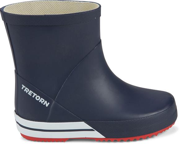 Tretorn Basic Mid Kumisaappaat, Navy/Red 34