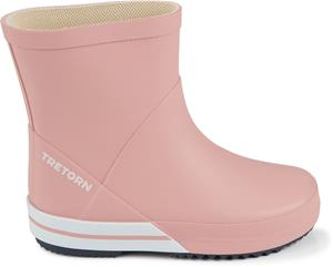 Tretorn Basic Mid Kumisaappaat, Light Rose/Navy 29