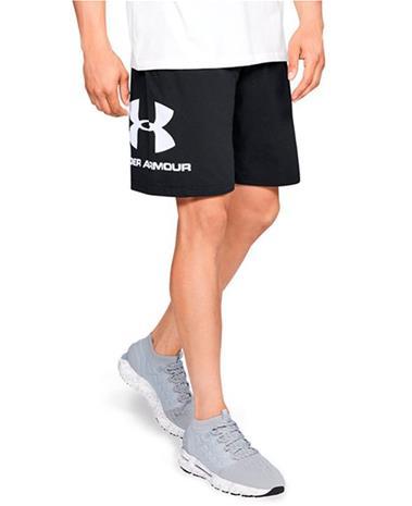 Under Armour Sportstyle Cotton Graphic - Shortsit - Musta - M