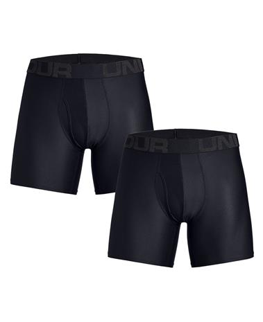 Under Armour Tech 6'' 2 Pack - Bokserit - Musta - S