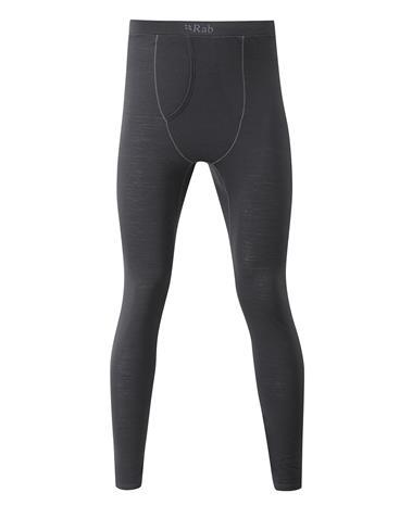 Rab Merino 120 - Pitkät alushousut - Ebony - XL