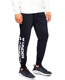 Under Armour Sportstyle Cotton Graphic Jogger - Housut - Musta - L