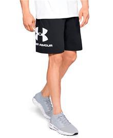 Under Armour Sportstyle Cotton Graphic - Shortsit - Musta - XXL