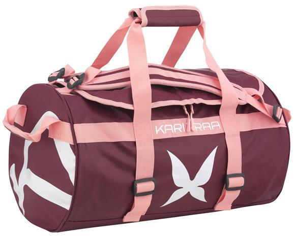 KARI TRAA Kari-laukku, 30 l, musta-pinkki-valkoinen