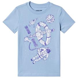 Pale Blue Astronaut Print Tee4 years