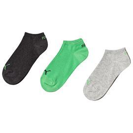 Kids Invisible 3P Grey Green35-38 (8-10 v)