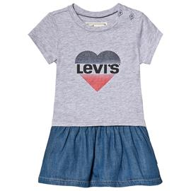 Grey Heart Logo Tee Dress24 Months