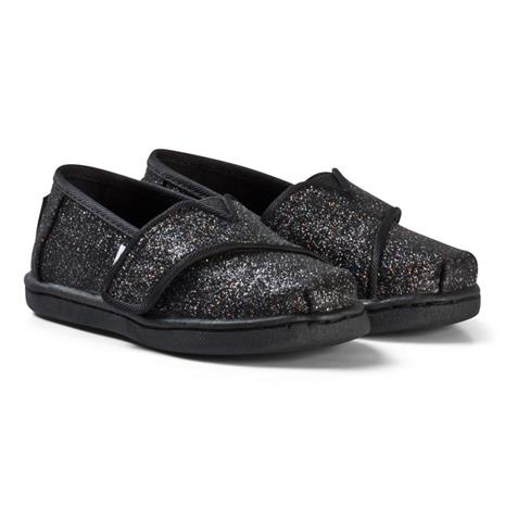 Musta Glitter Alpargarta Espadrillot24.5 (UK 7)