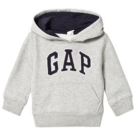 Logo Fleece Huppari Light Heather Grey4 v