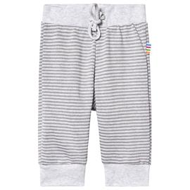 Pants Striped Knit Grey50 cm (0-1 kk)