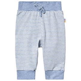 Pants Striped Knit Blue50 cm (0-1 kk)