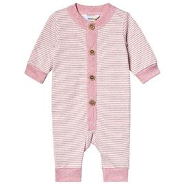 Jumpsuit Striped Knit Purpel50 cm (0-1 kk)