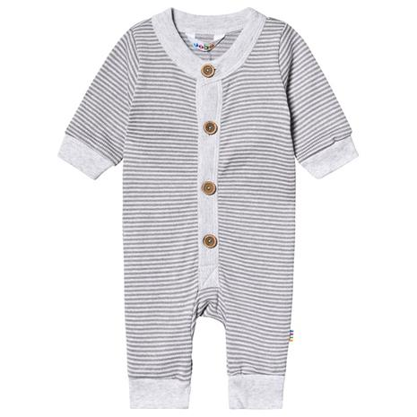 Jumpsuit Striped Knit Grey50 cm (0-1 kk)