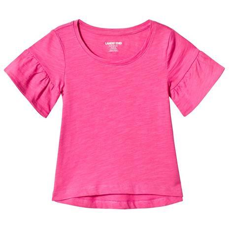 Pink Ruffle Sleeve Top4 years