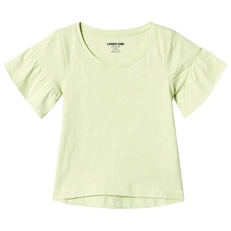 Yellow Ruffle Sleeve Top4 years