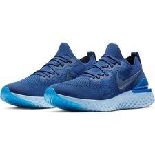 Nike Juoksukengät Epic React Flyknit 2 - Sininen/Navy