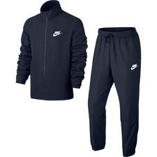 Nike Verryttelyasu NSW Woven - Navy/Valkoinen