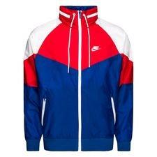 Nike Huppari NSW Windrunner - Navy/Punainen/Valkoinen