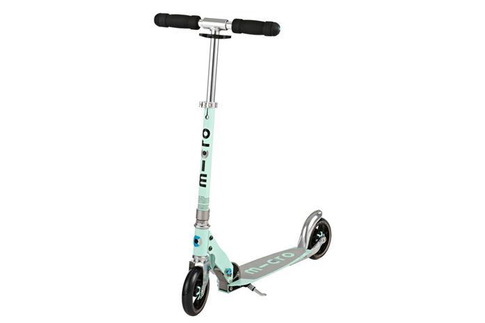 Speed+ Scooter mit Dämpfungssystem