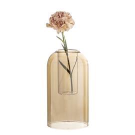 Vas Brown Glass, VaseAndPot