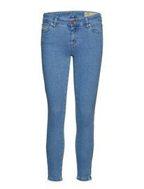 Diesel Women Slandy-Zip L.30 Trousers Sininen