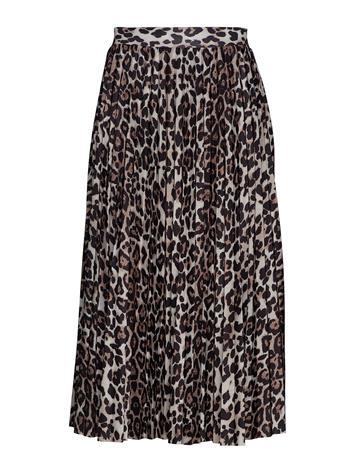 Gina Tricot Eva Pleated Skirt Musta