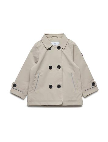 Polarn O. Pyret Trench Coat Beige