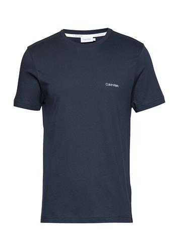 Calvin Klein Cotton Chest Logo T- Sininen