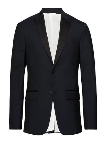 Calvin Klein Peak Lapel Tuxedo Bl Musta