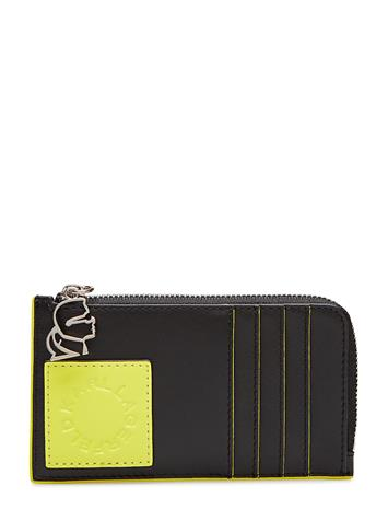 Karl Lagerfeld bags Neon Card Holder Musta