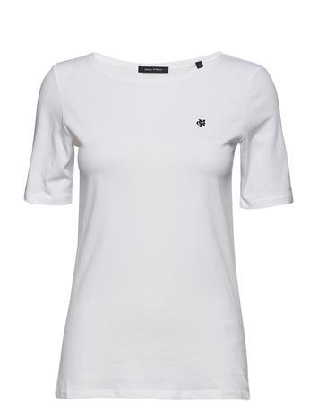 Marc O'Polo T-Shirts Short Sleeve Valkoinen