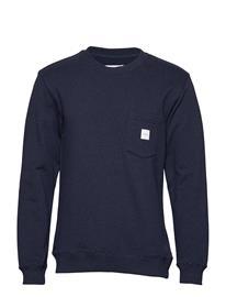 Makia Square Pocket Sweatshirt Sininen