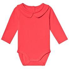 Vauvanbody Kauluksella Punainen74/80 cm