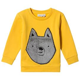 Samson Sweatshirt Yolk Yellow104 cm (3-4 v)