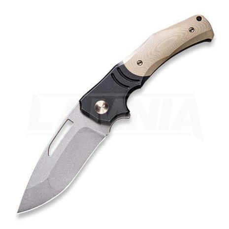 We Knife JIXX kääntöveitsi, tan