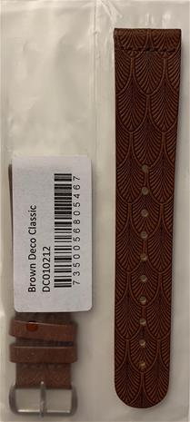 Triwa Brown Deco Leather Strap DC010212-STRAP