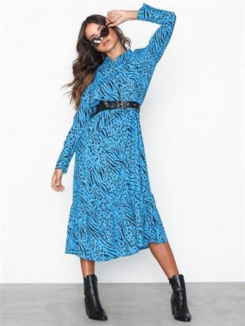 Only onlMUNI L/S Calf Dress Wvn