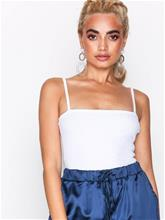 Missguided Square Neck Ribbed Bodysuit