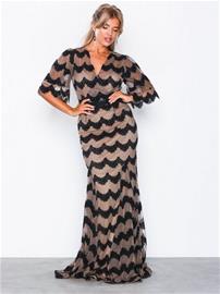 U Collection Short Sleeve Maxi Dress