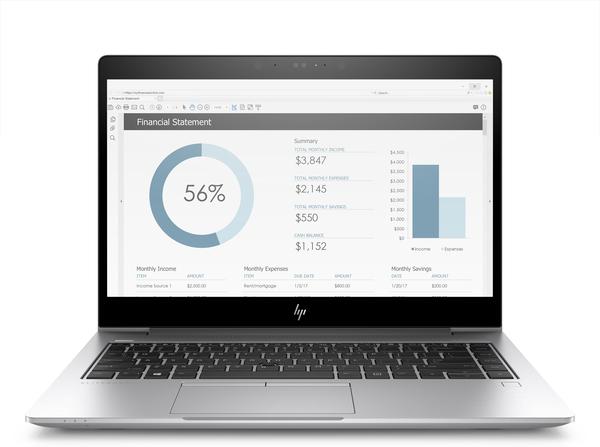 """HP Elitebook x360 5DF80EA#AK8 (Core i7-8550U, 16 GB, 512 GB SSD, 14"""", Win 10 Pro), kannettava tietokone"""