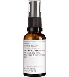 Evolve Organic Beauty Hyaluronihappo 30 ml seerumi