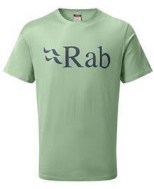 Rab Stance Logo - T-paita - Silverpine - S