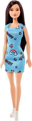 Barbie - Basic Doll - Baby Blue Dress (FJF16)