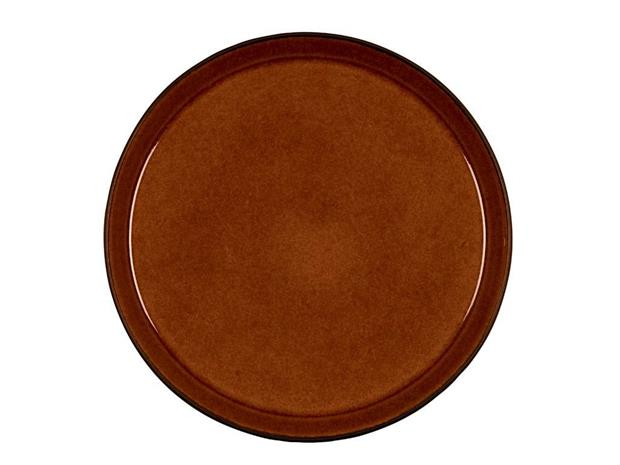 Bitz - Gastro Plate 27 cm - Black/Amber (821400)