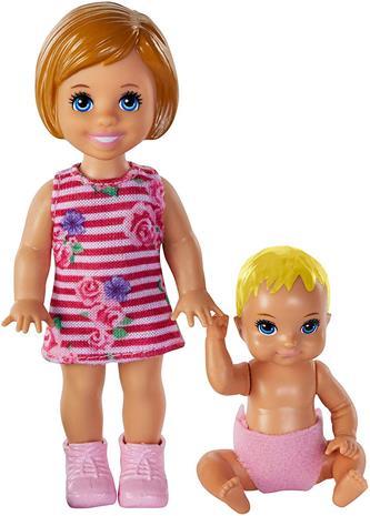 Barbie - Babysitter Sibling Pack - Girl (GFL31)