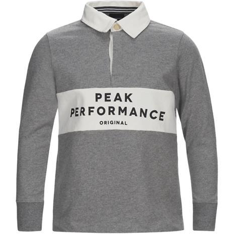 Peak Performance J RUGBY GREY MELANGE