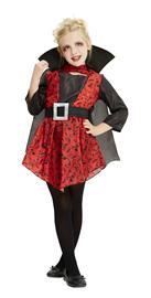 Children Costume - Girls Vampiress - Size 128