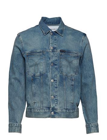 Calvin Klein Jeans Modern Classic Trucker Omega Sininen